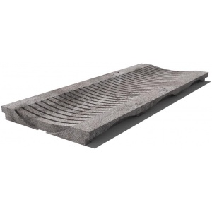 grey_east_drain_grate_610x250x30_mm_prof_1du_sandblasted